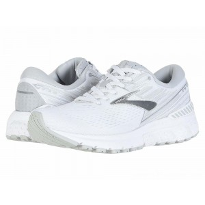 Brooks Adrenaline GTS 19 White/White/Grey - Sale