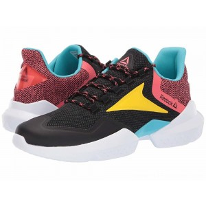 Reebok Split Fuel Black/True Grey/Bright Rose/Yellow/Blue/White - Sale