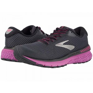 Brooks Adrenaline GTS 20 Ebony/Black/Hollyhock - Sale