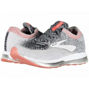 Brooks Bedlam Grey/Coral/White - Sale