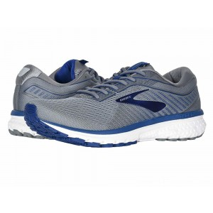 Brooks Ghost 12 Grey/Alloy/Blue - Sale