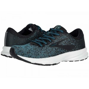 Brooks Launch 6 Black/Atlantic/Gold - Sale