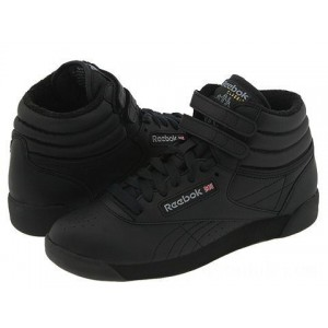 Reebok Lifestyle Freestyle Hi Black - Sale