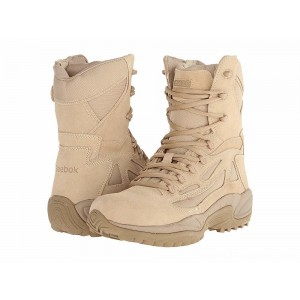 "Reebok Work Rapid Response 8"" Desert Tan - Sale"