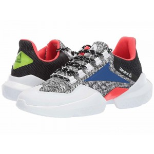 Reebok Split Fuel White/Black/Team Dark/Neon Red/Neon Lime - Sale