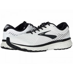 Brooks Ghost 12 White/Grey/Black - Sale