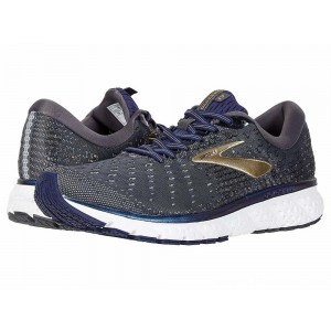Brooks Glycerin 17 Grey/Navy/Gold - Sale