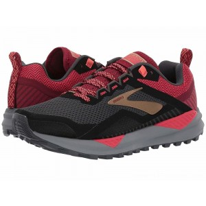Brooks Cascadia 14 Black/Rumba Red/Coral - Sale