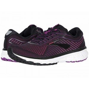 Brooks Ghost 12 Black/Hollyhock/Pink - Sale