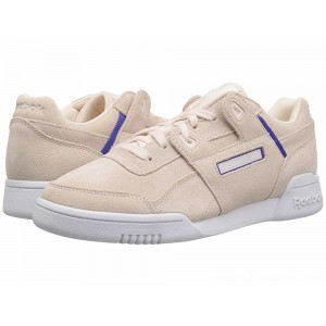 Reebok Lifestyle Workout Lo Plus Pale Pink/Ultima Purple/White - Sale