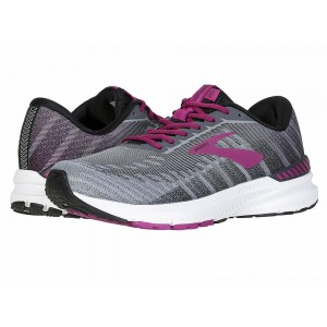 Brooks Ravenna 10 Ebony/Black/Wild Aster - Sale