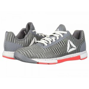 Reebok Speed TR Flexweave Cold Grey/White/Neon Red - Sale