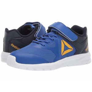 Reebok Kids Rush Runner A/C (Little Kid) Cobalt/Navy/Gold - Sale