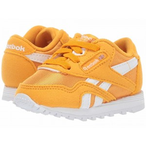 Reebok Kids Classic Nylon MU (Infant/Toddler) Gold/White - Sale