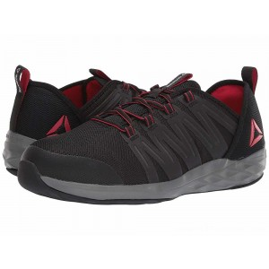 Reebok Work Astroride Work Black/Red/Dark Grey - Sale