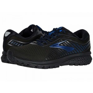 Brooks Ghost 12 GTX Black/Ebony/Blue - Sale
