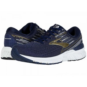 Brooks Adrenaline GTS 19 Navy/Gold/Grey - Sale