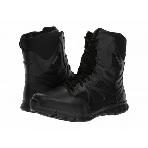 "Reebok Work Sublite Cushion Tactical 8"" Boot WP Black - Sale"