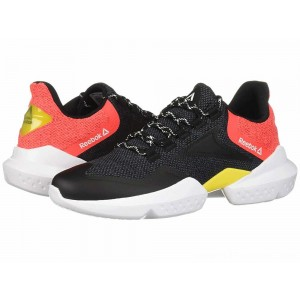 Reebok Split Fuel Black/True Grey/Neon Red/Red/Go Yellow/White - Sale