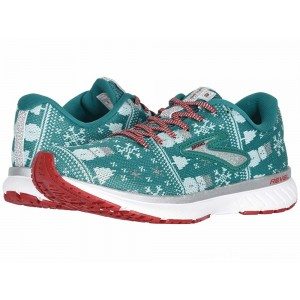 Brooks Revel 3 Green/Red/Metallic Silver - Sale