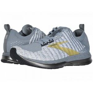 Brooks Bedlam 2 Grey/White/Gold - Sale