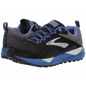 Brooks Cascadia 14 GTX Black/Grey/Blue - Sale