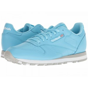 Reebok Lifestyle Classic Leather MU Digital Blue/White/Grey - Sale