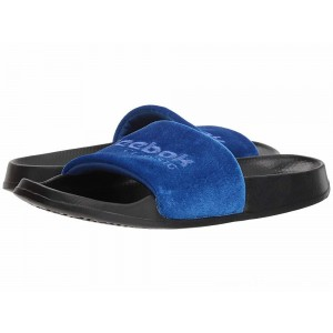 Reebok Lifestyle Classic Slide Collegiate Royal/Acid Blue/Black/White/Velvet - Sale