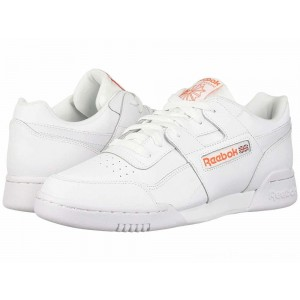 Reebok Lifestyle Workout Plus MU White/Bright Lava - Sale