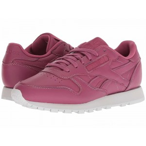 Reebok Lifestyle Classic Leather Twisted Berry/Spirit White - Sale