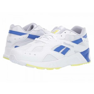 Reebok Lifestyle Aztrek White/Cold Grey/Crushed Cobalt/Neon Lime - Sale