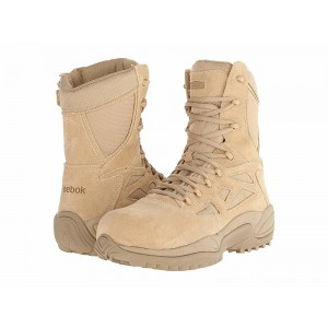 "Reebok Work Rapid Response RB 8"" CT Tan - Sale"