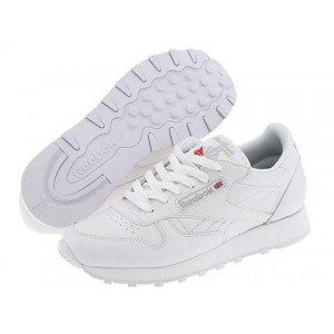 Reebok Lifestyle Classic Leather White - Sale