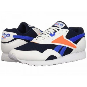 Reebok Lifestyle Rapide MU White/Collegiate Navy/Vital Blue/Bright Lava - Sale