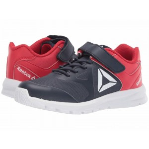 Reebok Kids Rush Runner A/C (Little Kid) Navy/Red - Sale