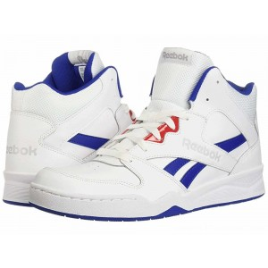 Reebok Lifestyle Royal BB4500 Hi 2 White/Collegiate Royal/Primal Red/Light Grey Heather Solid Grey - Sale
