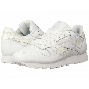 Reebok Lifestyle Classic Leather White/Light Grey - Sale
