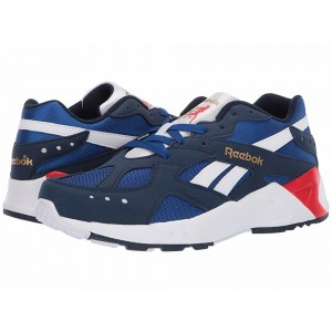 Reebok Lifestyle Aztrek Collegiate Navy/Royal/White/Primal Red/Grey/Gold - Sale