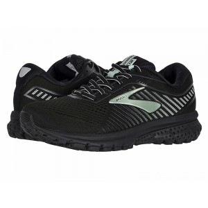 Brooks Ghost 12 GTX Black/Ebony/Aqua - Sale