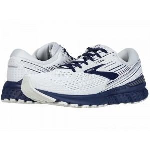 Brooks Adrenaline GTS 19 White/Grey/Navy - Sale