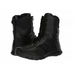 "Reebok Work Sublite Cushion Tactical 8"" Boot Black - Sale"