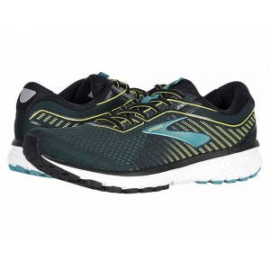 Brooks Ghost 12 Black/Lime/Blue Grass - Sale