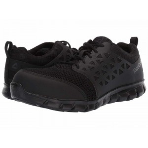Reebok Work Sublite Cushion Work Comp Toe ESD Black - Sale