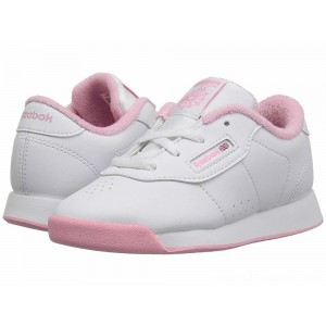 Reebok Kids Princess (Toddler) White/Light Pink - Sale