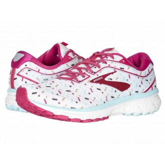 Brooks Zappos 20th x Ghost 12 White/Beetroot/Turquoise - Sale