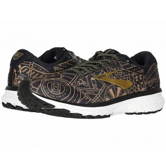 Brooks Ghost 12 Black/Gold/White - Sale