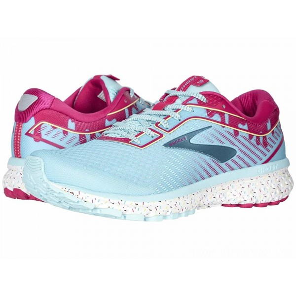 Brooks Zappos 20th x Ghost 12 Turquoise/Beetroot/White - Sale