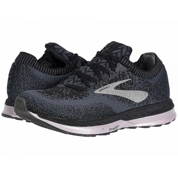 Brooks Bedlam Black/Black/Rose - Sale