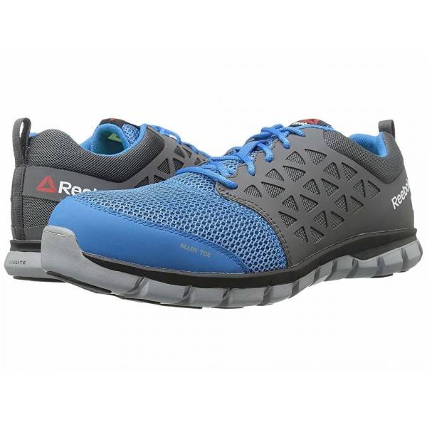 Reebok Work Sublite Cushion Work SD Blue/Grey - Sale