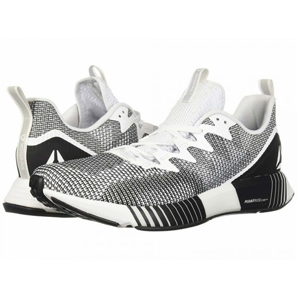 Reebok Fusion Flexweave White/Skull Grey/Black - Sale